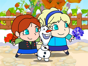 Thumbnail of Frozen Elsa Save Olaf