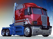 Thumbnail of Optimus Prime Truck Jigsaw