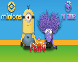 Thumbnail of Minions VS Evil Pong