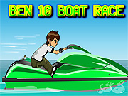 Thumbnail of Ben10 Boat Race