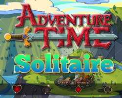 Thumbnail of Adventure Time Solitaire