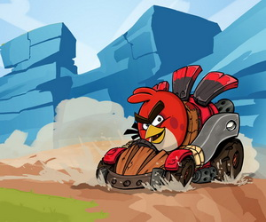 Thumbnail of Angry Birds Race Puzzle