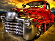 Thumbnail for Flame Truck Jigsaw