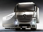 Thumbnail of Mercedes Benz Truck Jigsaw