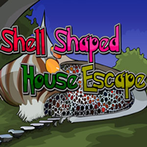 Thumbnail of Shell shaped house escape