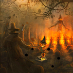 Thumbnail for Haunting Halloween Pumpkin Escape