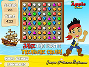 Thumbnail of Jake The Pirate Treasure Crush