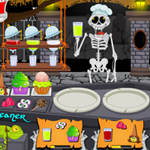 Thumbnail of Hallowen Graveyard Restaurant