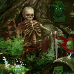 Thumbnail of Skully Forest Escape