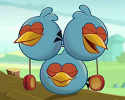 The Blues Angry Birds Puzzle thumbnail