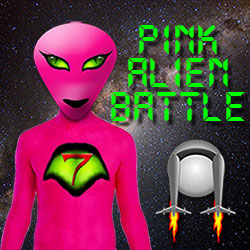 Thumbnail of Pink Alien Battle