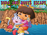 Thumbnail of Dora And Boots Escape