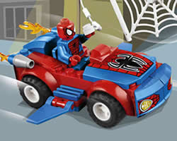 Lego Spider-Car Puzzle thumbnail