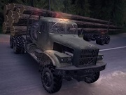 Timber Truck Jigsaw thumbnail