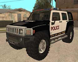 Hummer Police Puzzle thumbnail