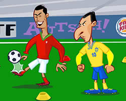 Thumbnail for Ronaldo vs Ibrahimovic