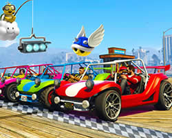 Thumbnail of Mario Kart GTA