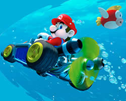 Thumbnail of Mario Driving Underwater