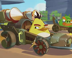 Thumbnail of Angry Birds Chuck Racer