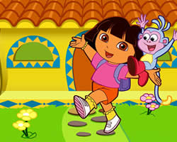 Thumbnail of Dora Collect Butterflies