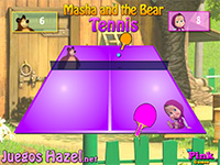 Thumbnail for Masha and the Bear Tennis