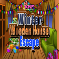 Thumbnail for Knf Winter Wooden House Escape