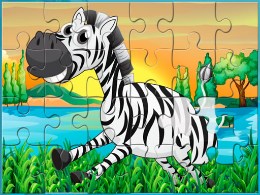 Happy Animals Jigsaw Game thumbnail