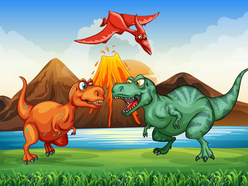 Colorful Dinosaurs Match 3 thumbnail