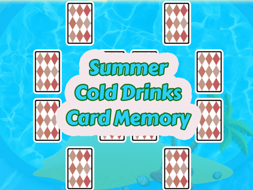 Summer Cold Drinks Card Memory thumbnail
