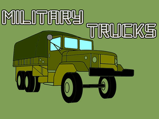 Military Trucks Coloring thumbnail