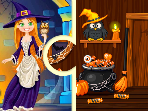 Witchs House Halloween Puzzles thumbnail