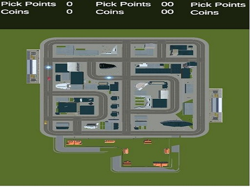 Top Down Taxi Car Game thumbnail