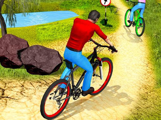 Uphill Offroad Bicycle Rider thumbnail