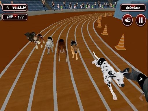 Thumbnail of Real Dog Racing Simulator Game 2020