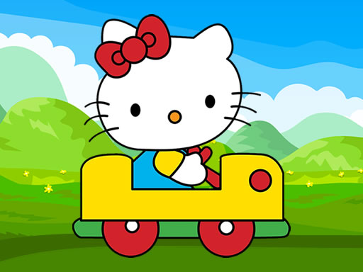 Cute Kitty Car Jigsaw thumbnail