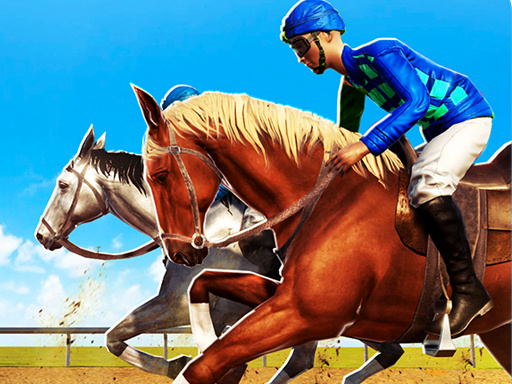 Horse Racing Games 2020 Derby Riding Race 3d thumbnail