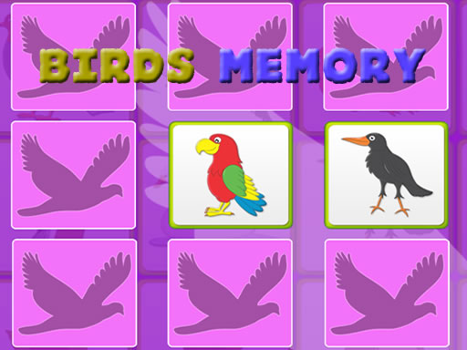 Thumbnail of Kids Memory with Birds