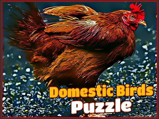 Thumbnail of Domestic Birds Puzzle