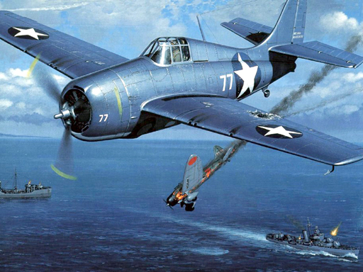 Aviation Art Air Combat Puzzle thumbnail