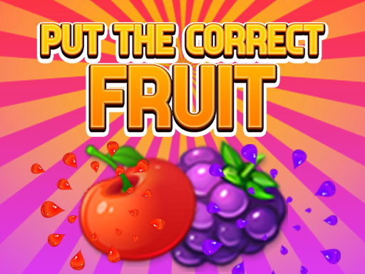 Put The Correct Fruit thumbnail