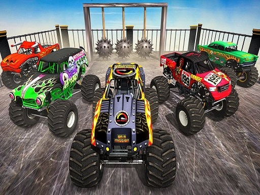 Monster Truck Impossible Stunt Track thumbnail