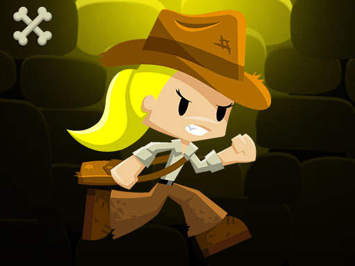 Thumbnail of Lara and the skull gold