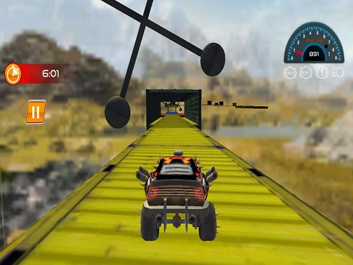 Mega Levels Car Stunt Impossible Track Game thumbnail