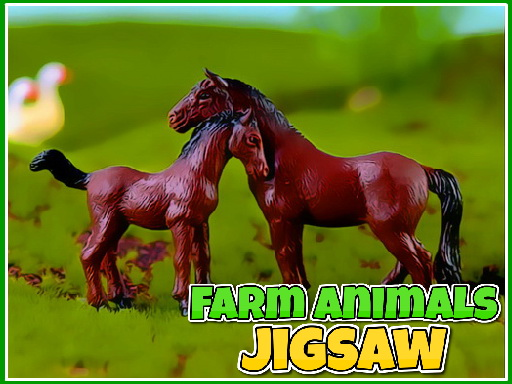 Farm Animals Jigsaw thumbnail
