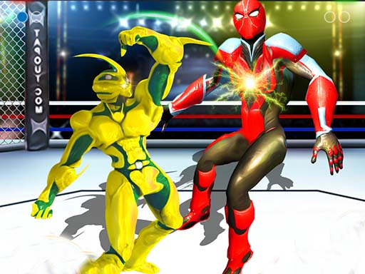 Thumbnail of Robot Ring Fighting Wrestling Games