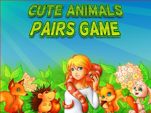 Thumbnail of Cute Animals Pairs Game