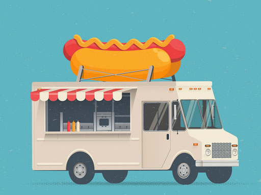Food Trucks Jigsaw thumbnail