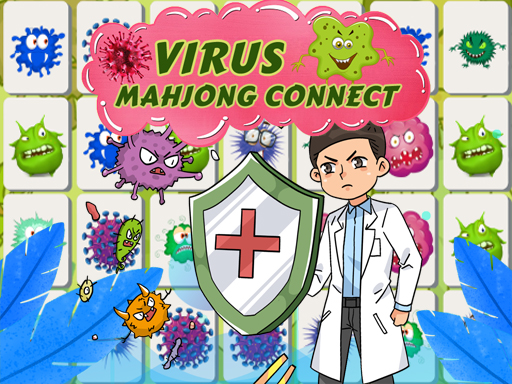 Thumbnail for Virus Mahjong Connection