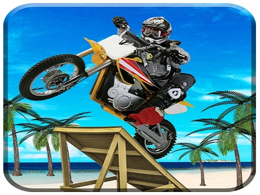 Beach Bike Stunts Game thumbnail