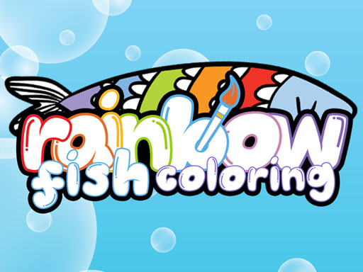 Rainbow Fish Coloring thumbnail